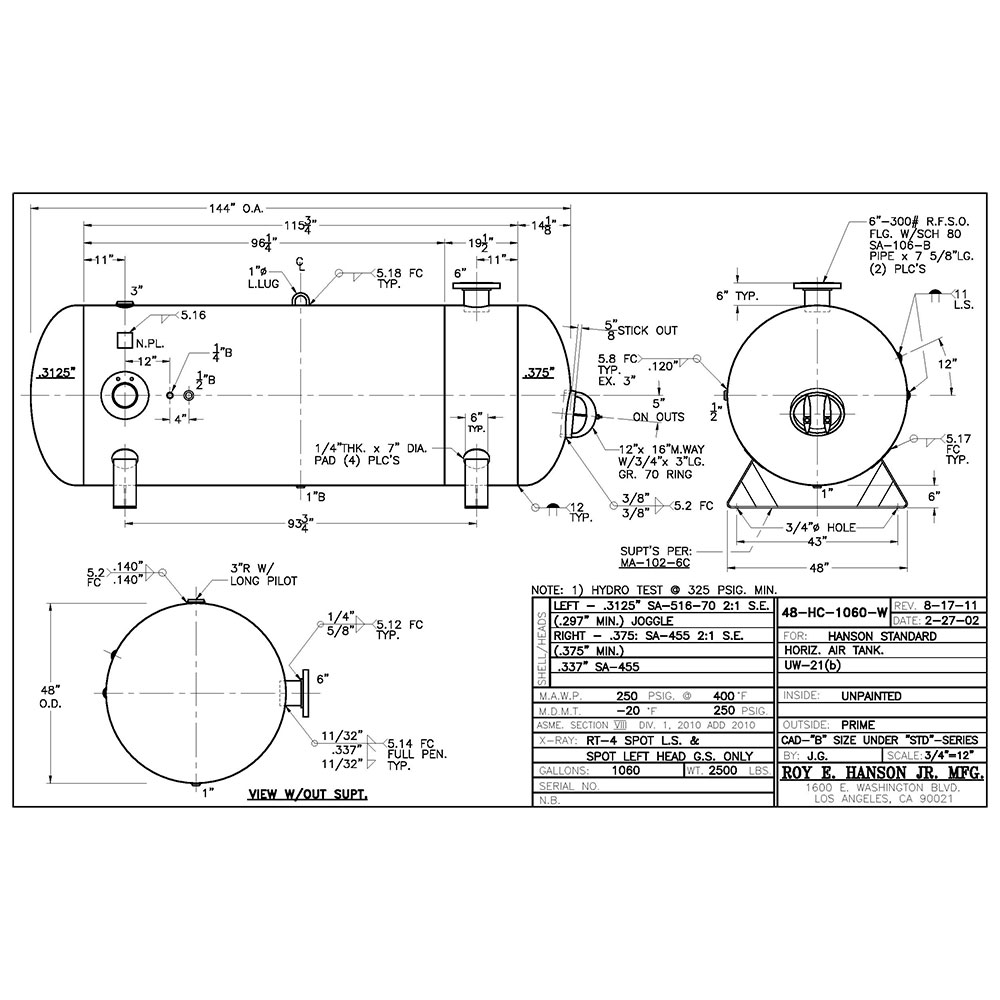 48-HC-1060-W