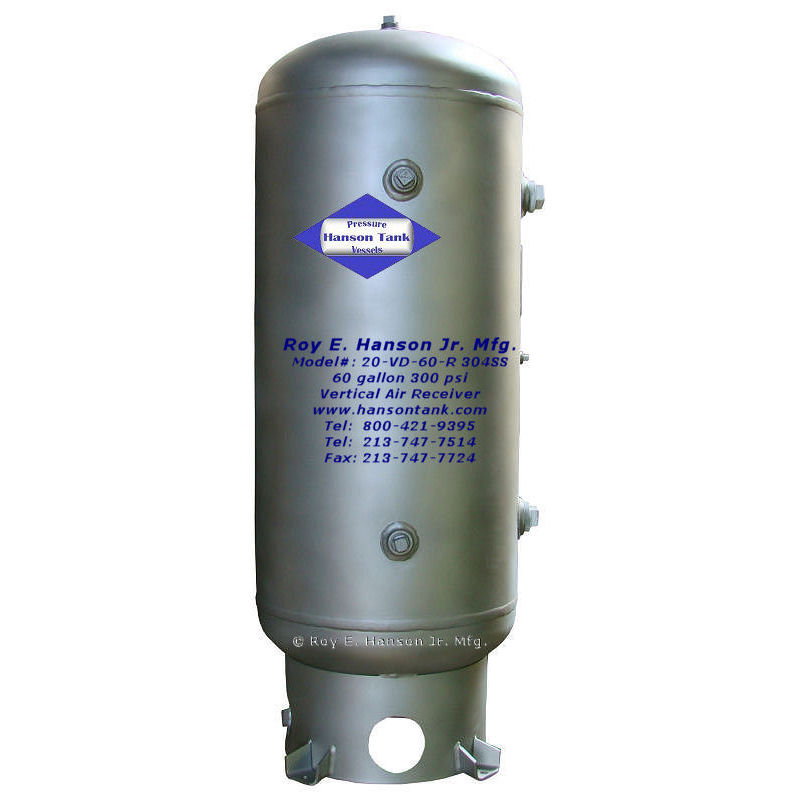 20-VD-60-R 304 stainless steel tank