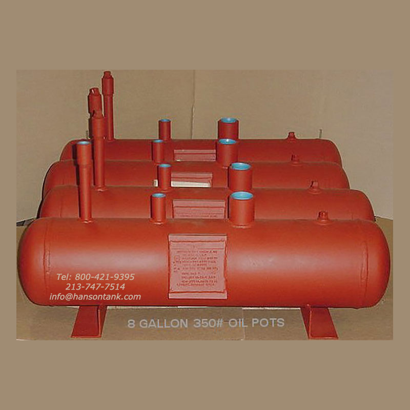 8 gallon oil tanks