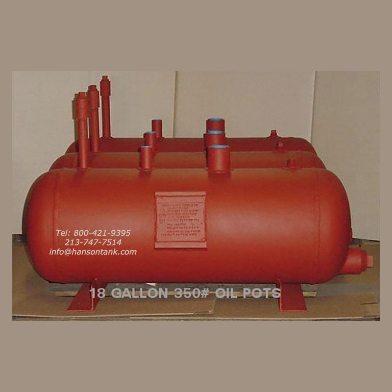 18 gallon oil tanks