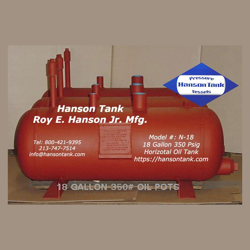 N-18 Hanson Oil Pot