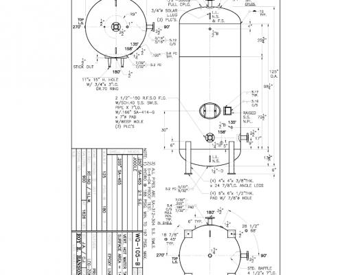 wq-105-b 900 gallon vertical hot water storage tanks