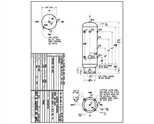20-vd-80-r asme drawing air receiver
