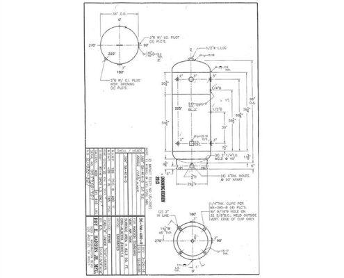 36-vm-400-r 400 gallon vertical surplus air receiver