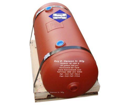 ae-688-a 30 gallon horizontal air receiver