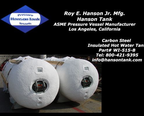 wi-515-b insulated hot water storage tank