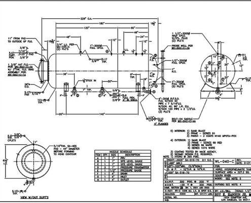 wl040c asme hydropneumatic water tank