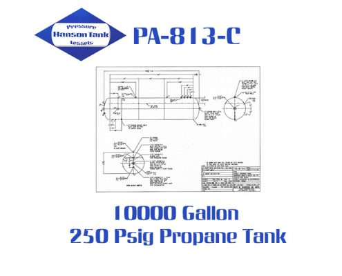 pa-813-c 10000 gallon propane storage tank