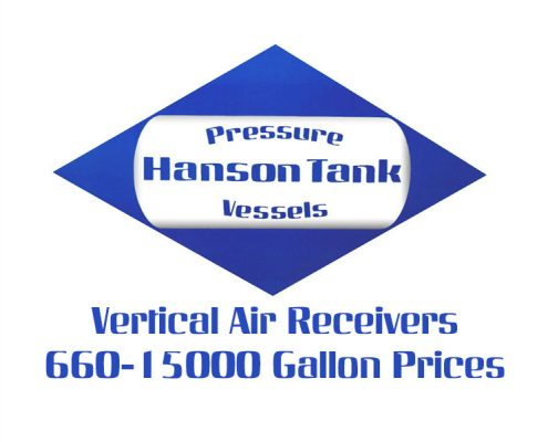 Air Receiver 660 gallon to15000 gallon