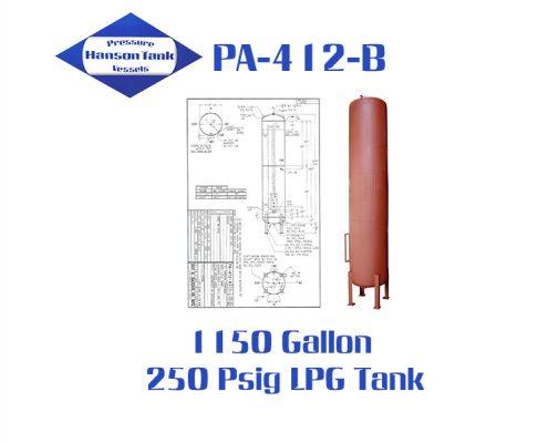 pa412b lpg tank