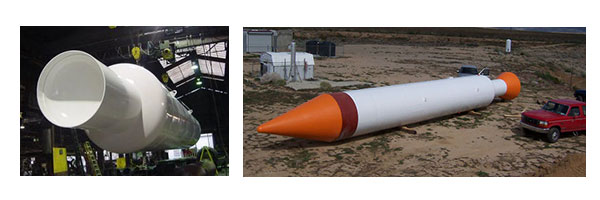 test rocket presure vessel