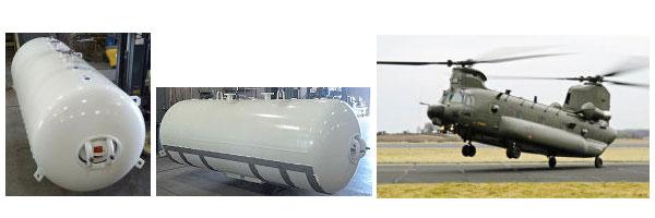 WN-799-C horizontal water tank