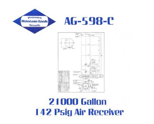 AG-598-C 21000 Gallon Air Receiver