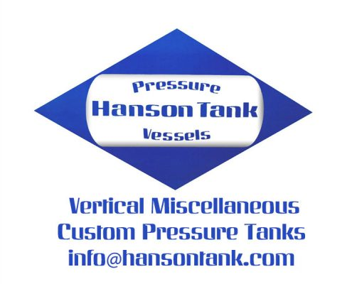 vertical miscellaneous pressure tanks