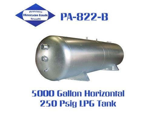 PA-822-B 5000 Gallon Horizontal Lpg Tank