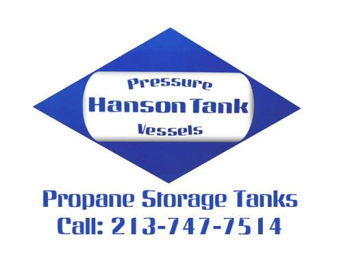 propane storage tanks