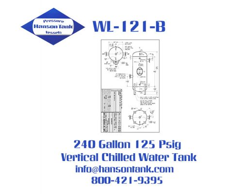 wl-121-b 240 gallon vertical chilled water tanks