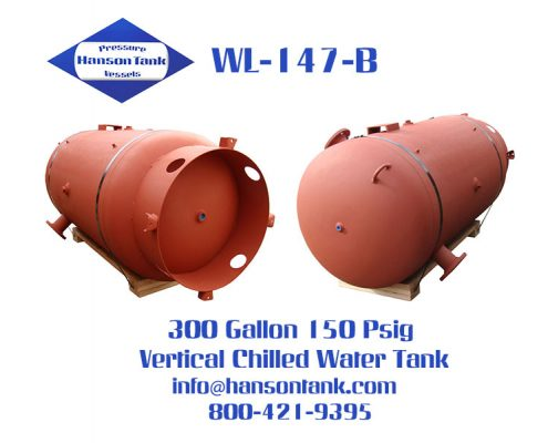 wl-147-b 300 gallon vertical chilled water tank