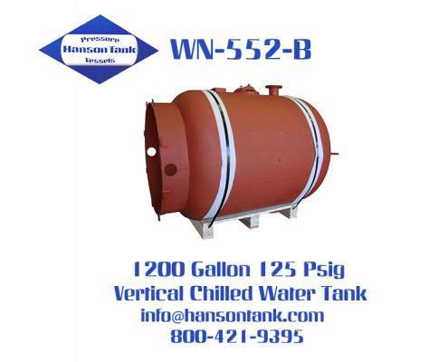 wn-552-b 1200 gallon chilled water buffer tank