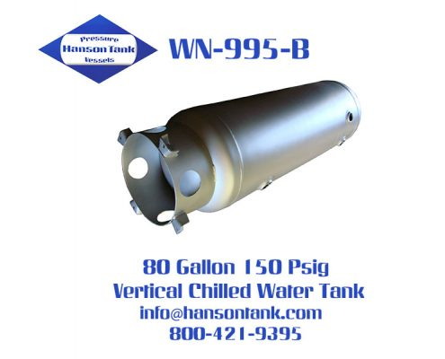 wn-995-b 80 gallon vertical chilled water tank