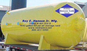 ah264b 7000 gallon air receiver