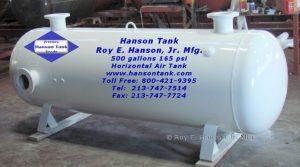 ah654b 500 gallon air receiver