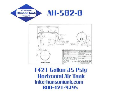 ah582b 35 psig air receiver