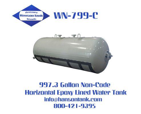 wn799c 1000 gallon non-code water ballast tank