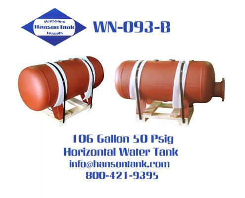 wn093b horizontal custom tank