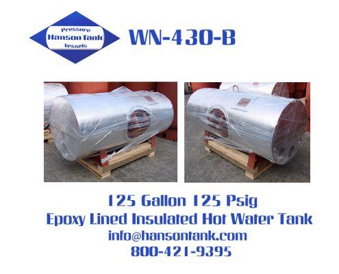 wn430b epoxy lined hot water tank