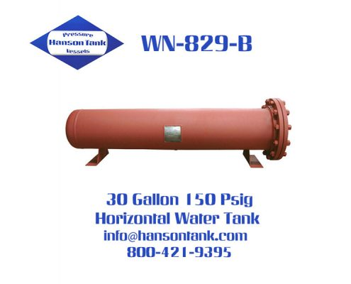 wn829b 30 gallon horizontal water tanks