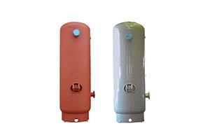 vertical air receiver design