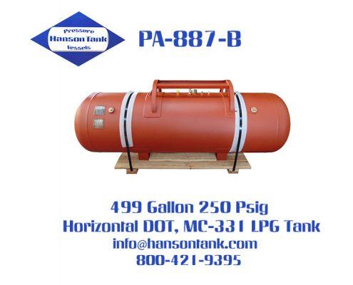 pa-887-b dot mc-331 lpg tanks
