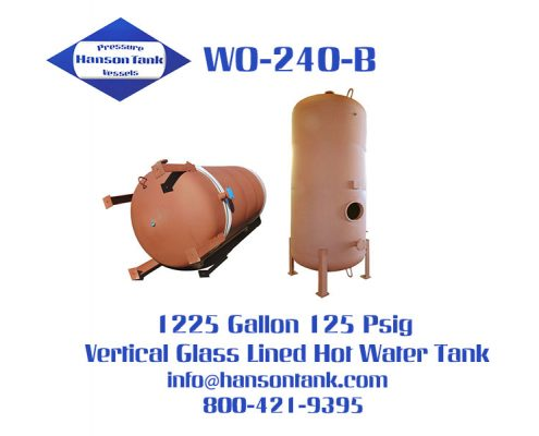 wo240b vertical glass lined hot water storage tank